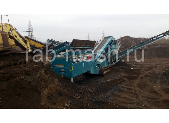 Грохот POWERSCREEN Chieftain 1400(Track)